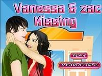 Поцелуй Ванессы и Зака