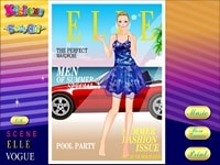 Обложка модного журнала