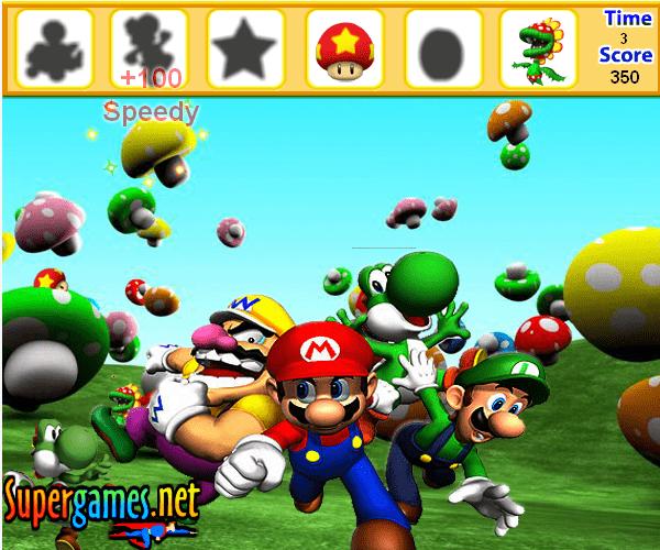 Марио: острова скрытых объектов