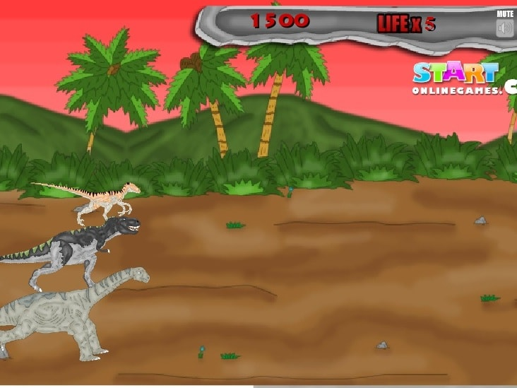 Динозавры в Панике