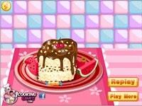 Украшаем пирожные