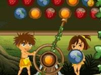 Стрелок шариками в джунглях