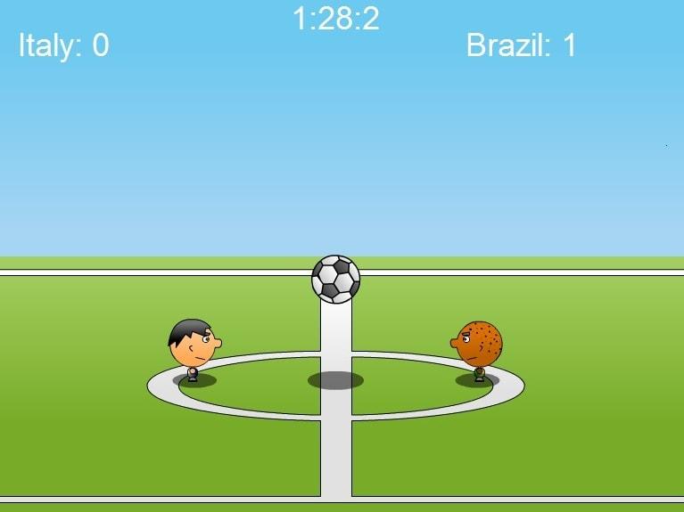 1 на 1 футболе