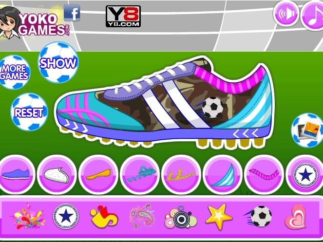 Собственный дизайн футбольных кроссовок