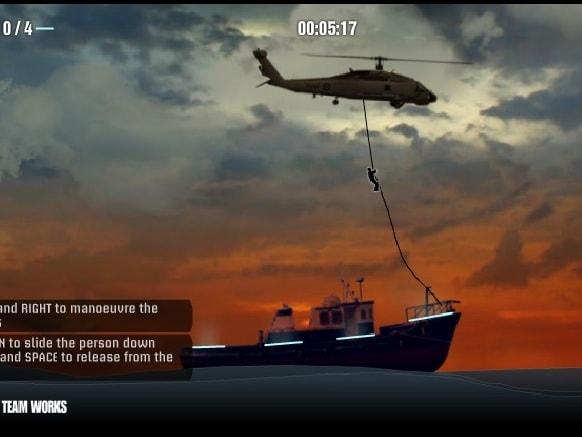 Спрыгни с вертолета