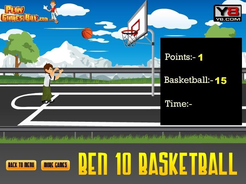 Бен 10 - Баскетбол