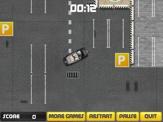 Парковка в автомастерскую.