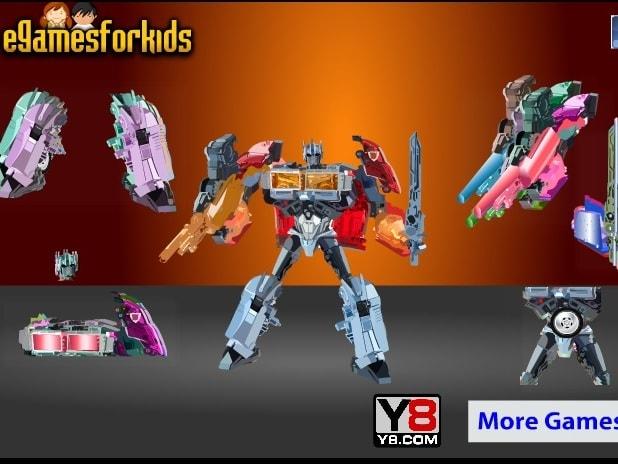 Роботы игры для мальчиков