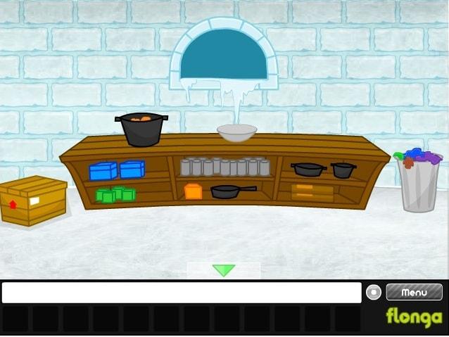 Побег из ледяного замка