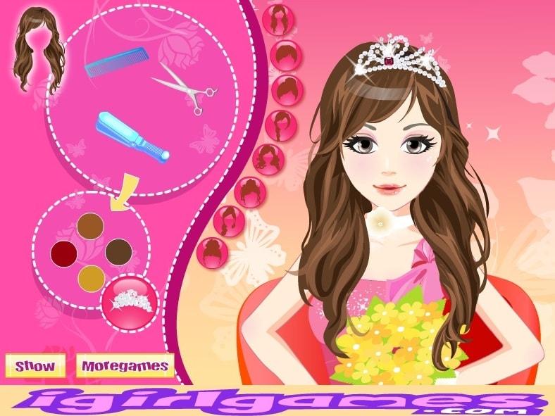 Невеста Прическа
