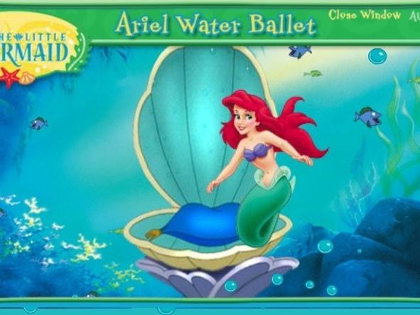 Балет воды Ariel