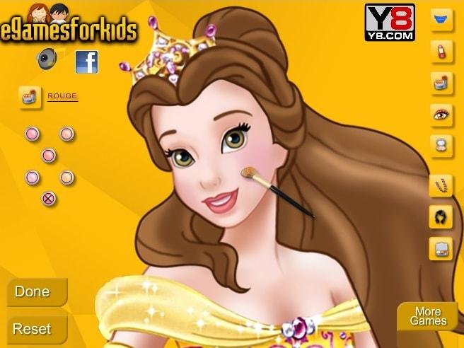Макияж для принцессы Белль
