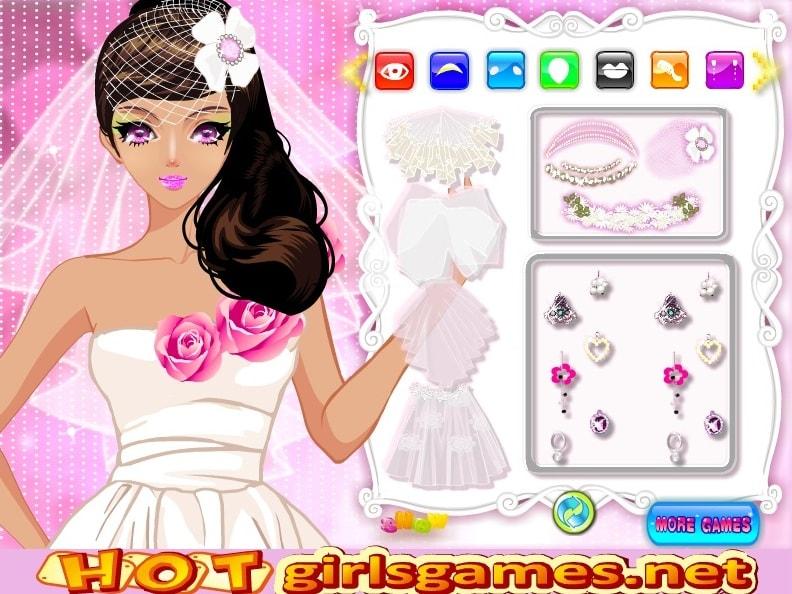 Одевалки - Свадебная