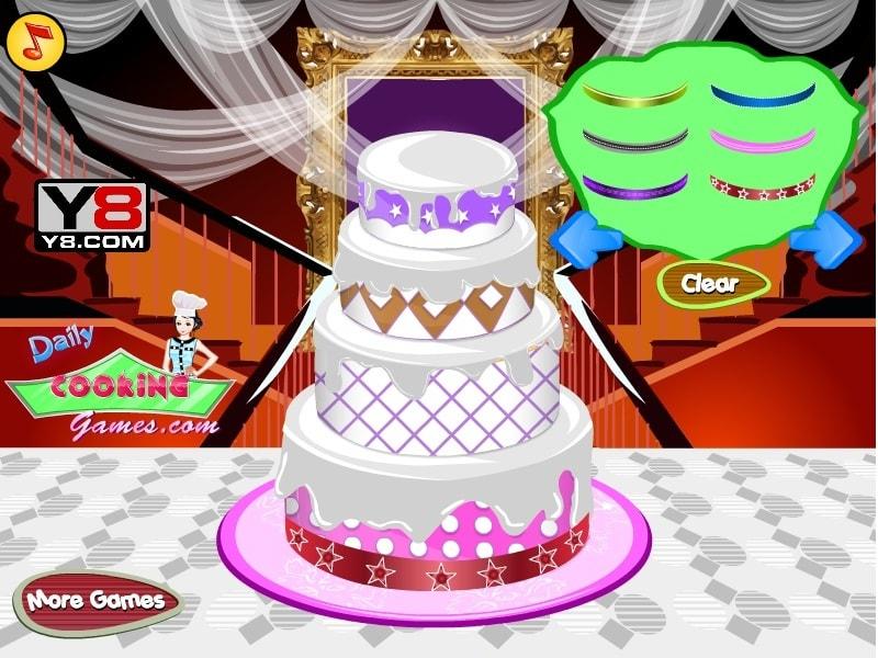 Свадебный торт Deco