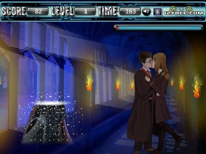 Поцелуй Гарри Поттер