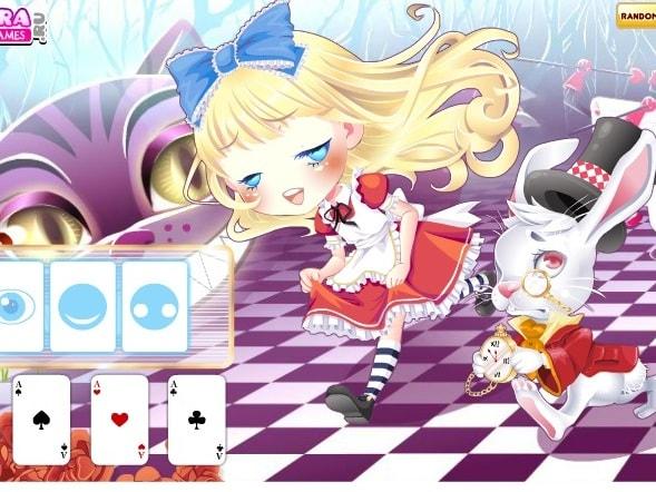 Одевалка Алиса