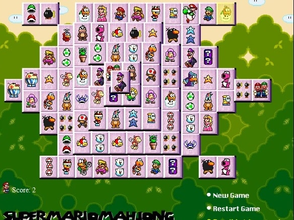 Super Mario Маджонг