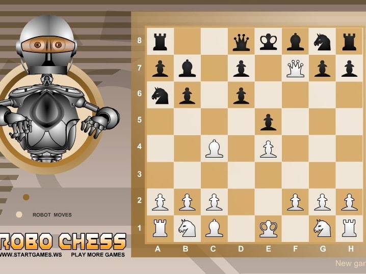 Шахматы робо