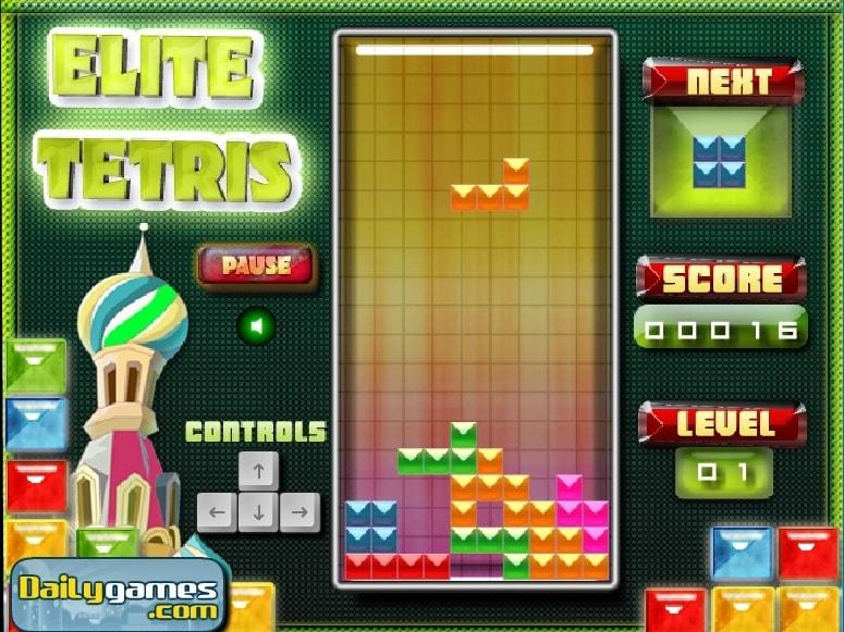 Элита Tetris
