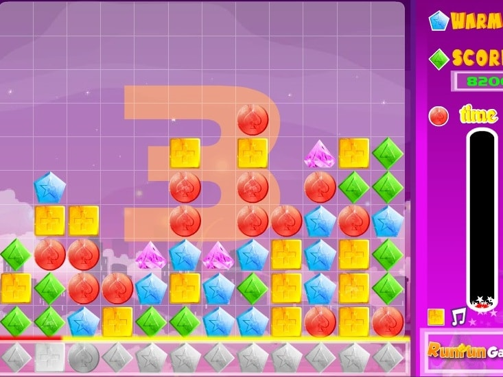 Гонка Tetris