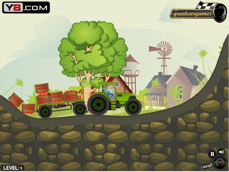 Фермер Тэд и его Трактор