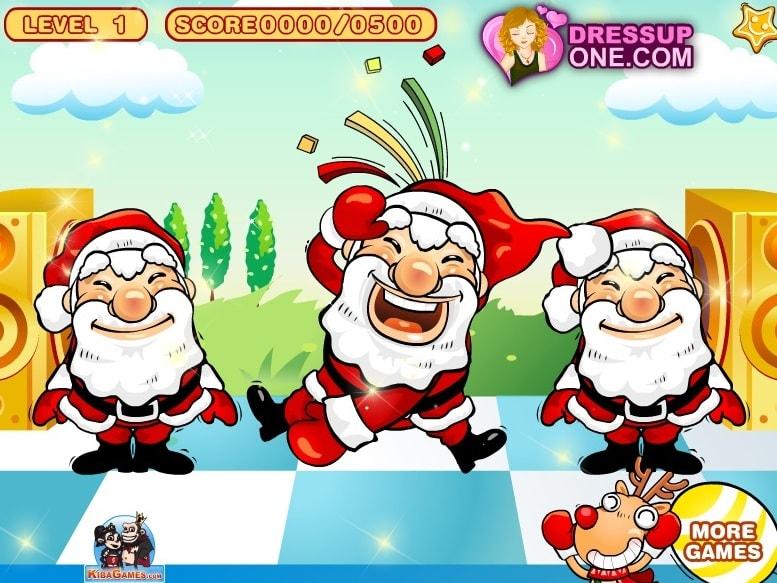 Танец Деда Мороза