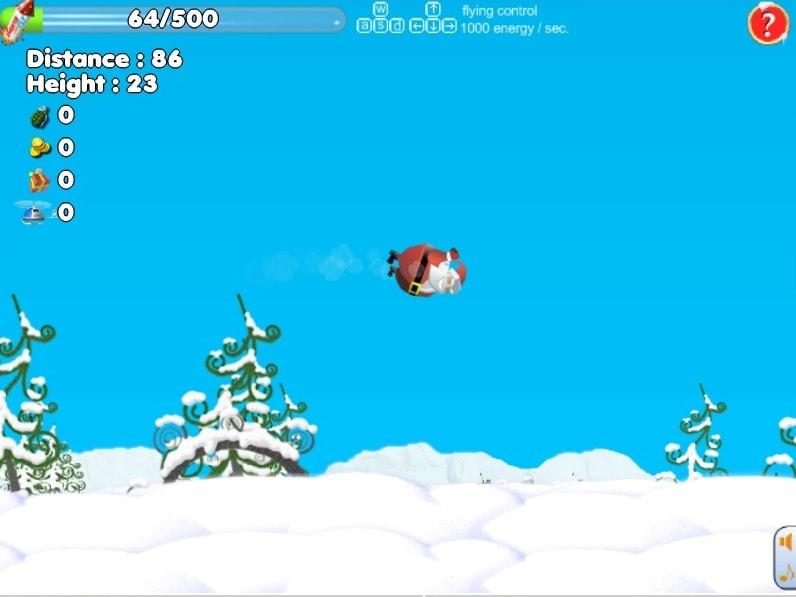 Санта может лететь