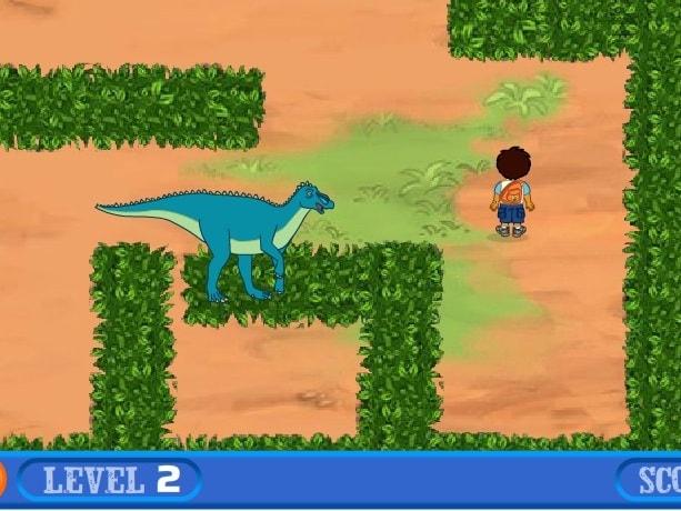 Спасение динозавра Диего