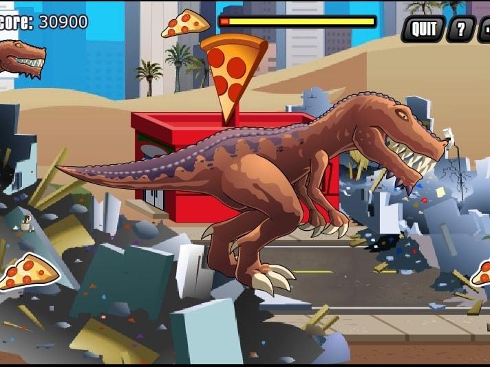 Ярость Тиранозавра: Доисторическая пицца