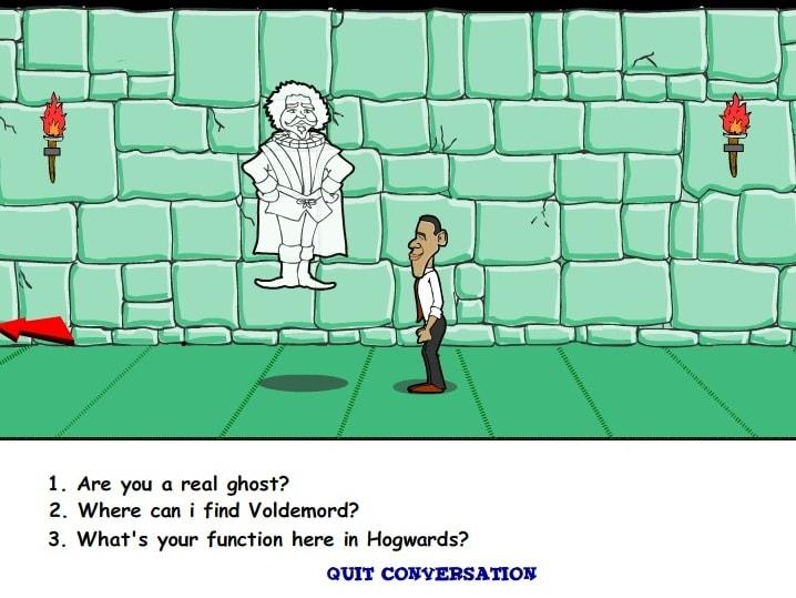 Обама Поттер и волшебная монетка