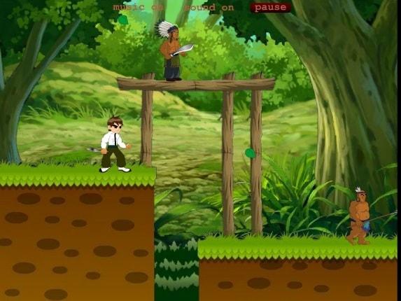 Приключения Бена в джунглях