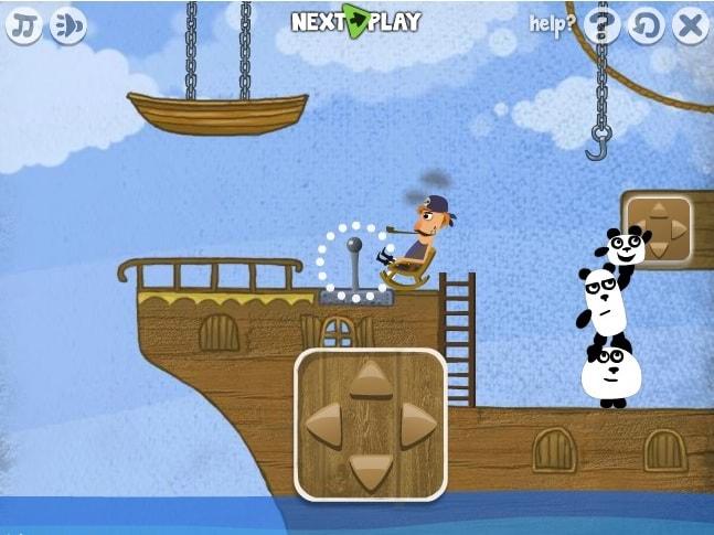 Приключение панды