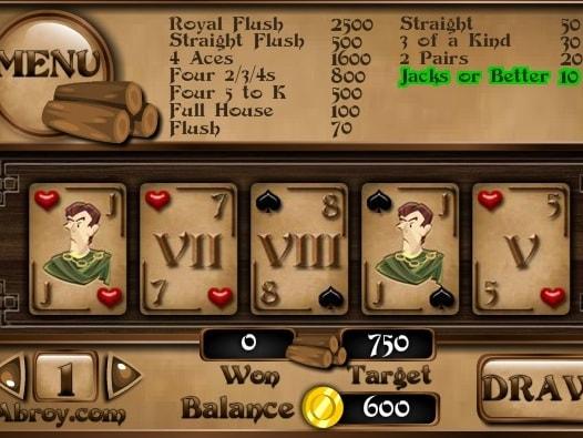 Покер - римский архитектор