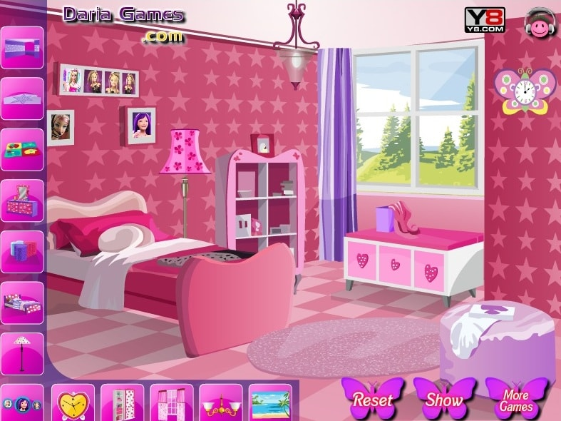 Декорирование комнату Барби