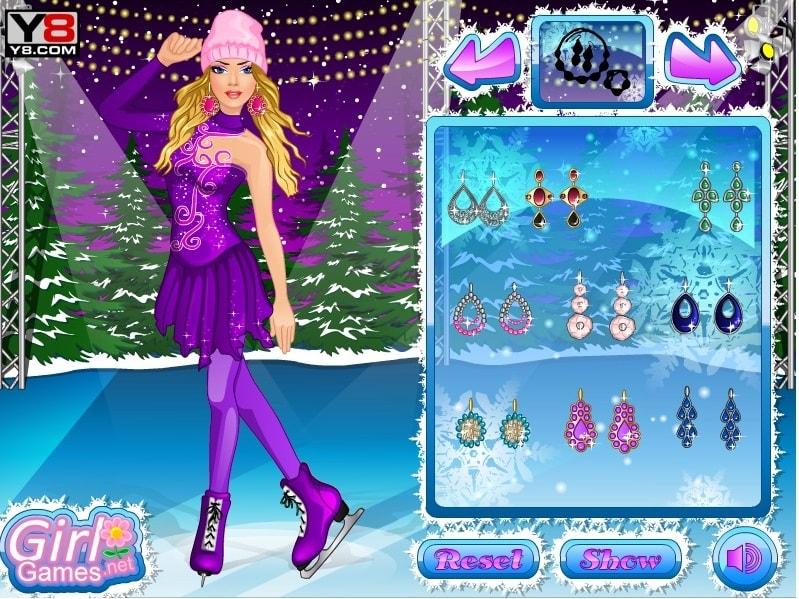 Танцы на льду с Барби