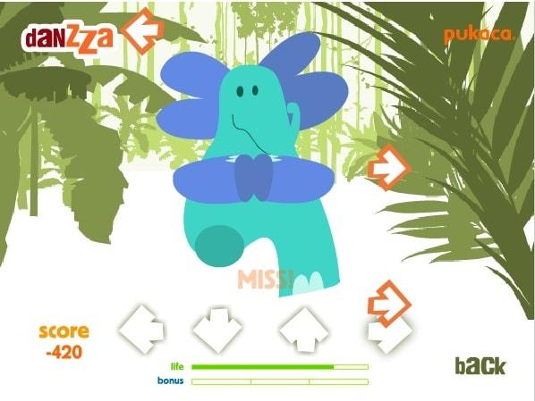 Танцы слонёнка