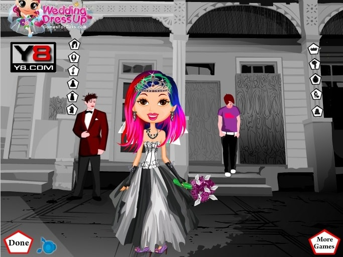Эмо-невеста
