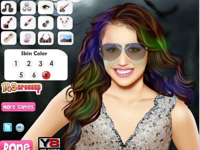 Miley Cyrus знаменитости макияж