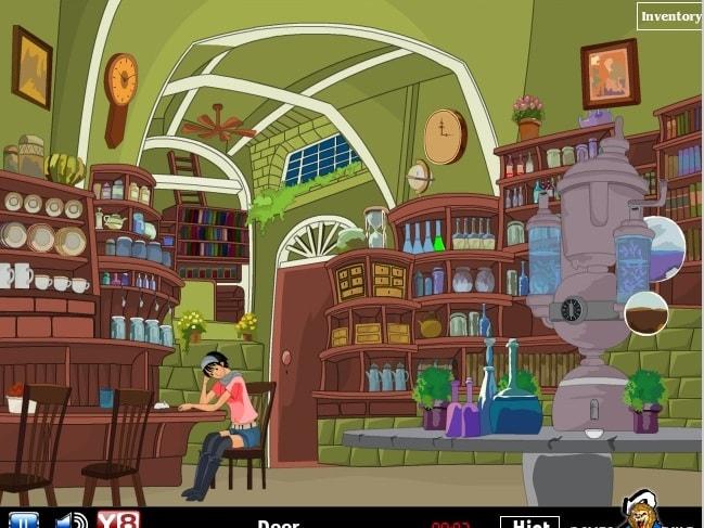 Аниме - побег из лаборатории