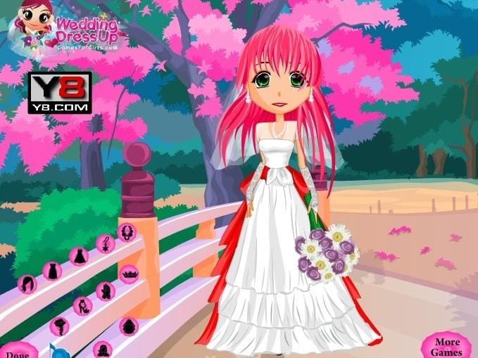 Свадьба в стиле аниме