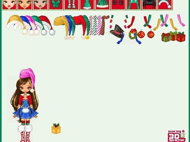 Рождественские наряды Братц