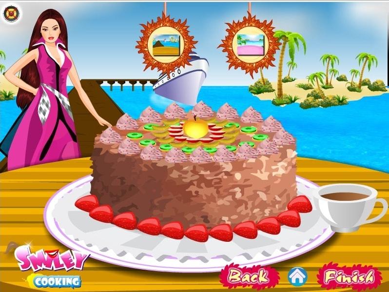 Барби кокосовый торт