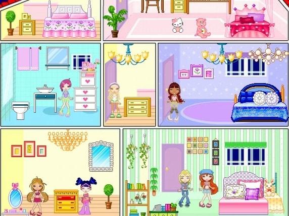 Винкс Кукольный домик