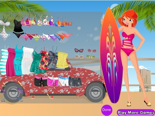 Блум и серфинг