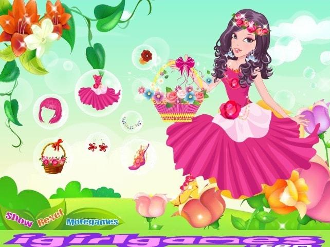 Красивый цветок для принцессы