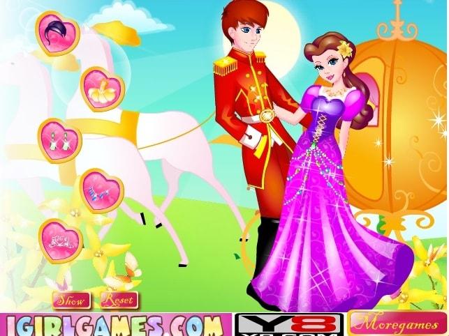 Танец принцессы и принца