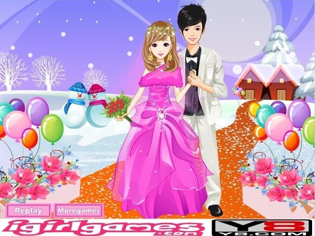 Романтическая белоснежная свадьба