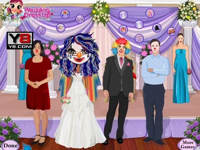 Свадьба клоунов