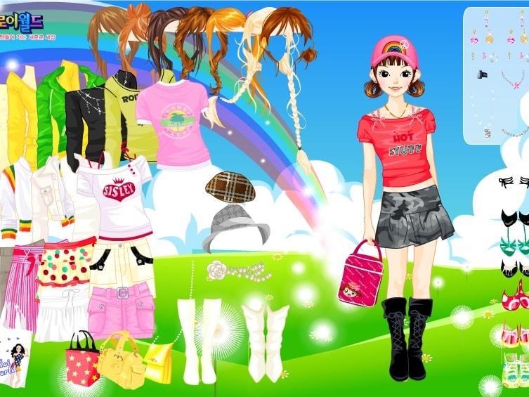 Тип радуги одевает