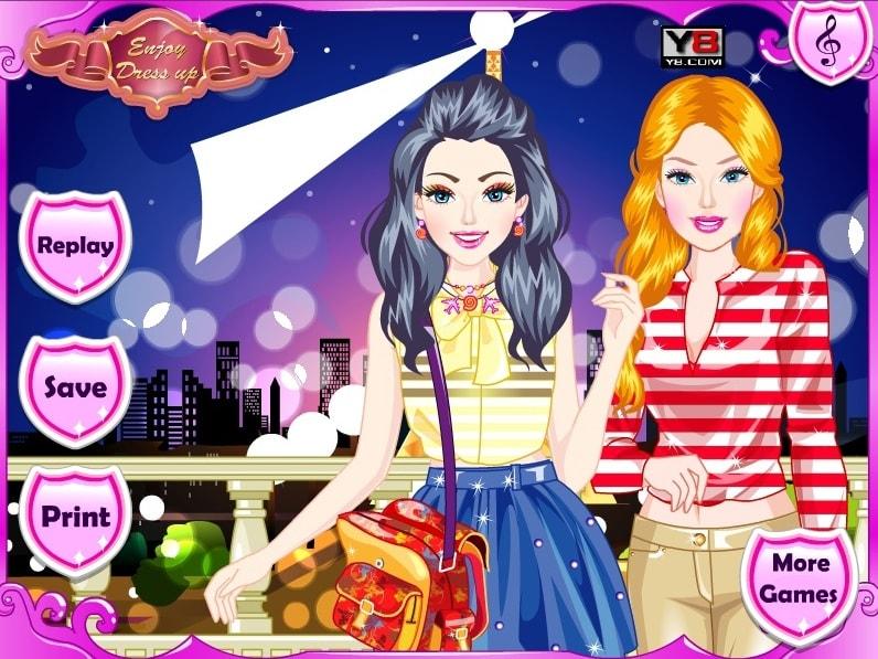 Барби и Элли в Европе